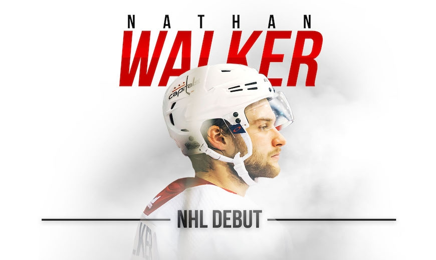 Nathan Walker first Australian to play in the NHL